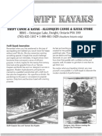 Swift Canoes and the Competition- by John Winters | Kayak