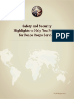 Peace Corps Safety and Security Highlights