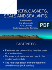 {2ed86710 3b4f 4bc1 8799 504c7406e82a}Fasteners,Gaskets, Seals and Sealants Ppt