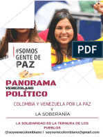 PANORAMA POLÍTICO de Venezuela 2017