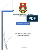 Analisis Historia Clinica 14 Luis Medina
