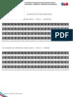 24072016185147 Gabaritos Prelimiares Xx Exame de Ordem