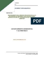 Informe Topografico 30 01