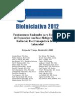 Mónica Mendiwelso Bendek - Resumen Para El Público del Reporte BioIniciativa 2012 traducido al Español  por la Escuela de Autoindagación -  Colombia - Junio 2014