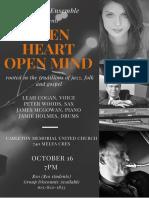Concert Poster CMUC Oct 16