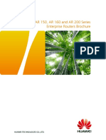HUAWEI AR150 AR160 AR200 Series Enterprise Routers Datasheet