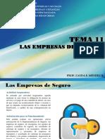 Tema 11. Empresas de Seguro y Reaseguro