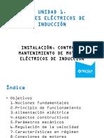 UNIDAD 1.Motores Eléctricos de Inducción