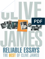 James, Clive - Reliable Essays- The Best of Clive James (2002, Pan MacMillan, 0330481304,9780330481304) (1)
