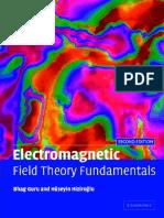 Book - 1998 Electromagnetic Field Theory Fundamentals by Bhag Singh Guru