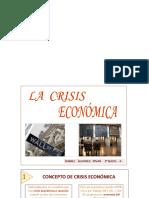 Crisis Economicaa