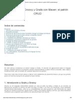 Introducción a Groovy y Grails Con Maven_ El Patrón CRUD _ Adictosaltrabajo