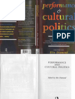 Elin Diamond - Performance and Cultural Politics (1996)