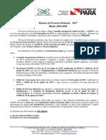 CES - Processo Eleitoral - Biênio 2018-2020