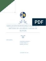 Informe Aguja de Burffon y Método de Las Áreas