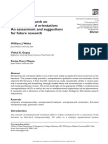 Empirical Research on Entrepreneurial Orientation