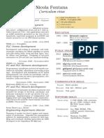Two Column CV