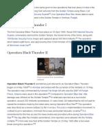 Operation Black Thunder - Wikipedia