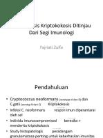 Patogenesis Kriptokokosis ppt