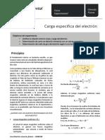 Electron Carga