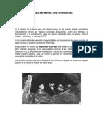 Gases en Minas Subterraneas