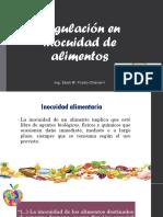 Regulación en Inocuidad de Alimentos