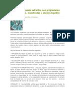 Cómo Preparar Extractos Con Propiedades Fungicida1