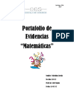 Portafolio de Matematicas