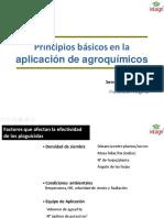Principios Basicos en La Aplicacion de Agroquimicos (Quinones)