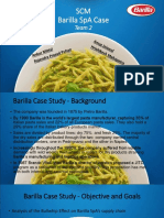 Barilla Spa Case Draft