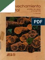Aprovechamiento Forestal Analisis de Apeo y Transporte