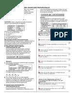 Aritmética - Reparto proporcional