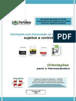 Orientações Para Dispensação de Mededicamentos Controlados_2015