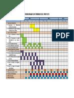 Cronograma de Actividades Del Proyecto Trucha