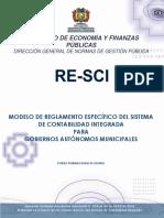 Modelo de RE SCI