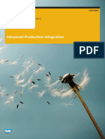 EWM Advanced Production Integration PP