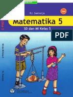 Matematika untuk SD/MI Kelas 5