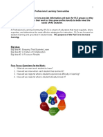 professional learning communities binder