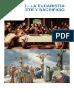 Tema 13 - La Eucaristía Banquete y Sacrificio