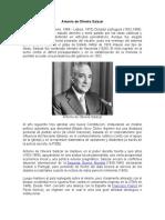 Antonio de Oliveira Salazar y El Falangismo Español