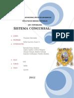 Sistema Concursal Peru