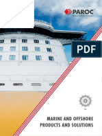 Marine and Offshore Products and Solutions Paroc INT