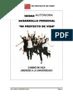 Modelo Final de Proyecto de Vida Ua 2014