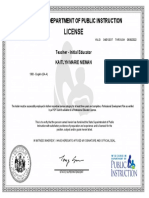 kaitlyn nieman official dpi license