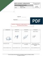 Estandar DC115 Aislamiento, Bloqueo y Señalización