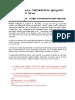 CS132 EECS148 ProblemSet5 Solution
