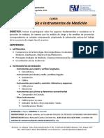 Curso Metrologia Instrumentos Medicion