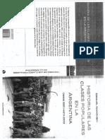 Historia de Las Clases Populares en La Argentina 1880 - 2003 - Ezequiel Adamovsky