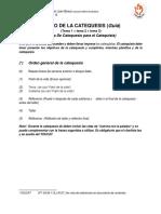2. Estructura de Catequesis Confirmación