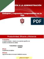 Enfoques y Supuestos TGA y Relación Otras Teorías